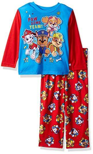 Paw Patrol Baby and Toddler Boys 2 Piece Sleepwear Pajama Set
