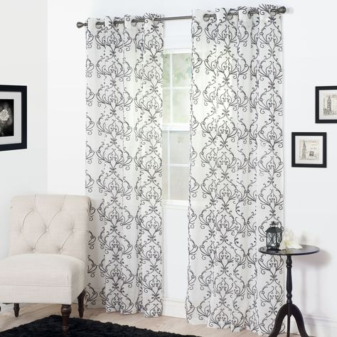 Valencia Sheer Single Curtain Panel