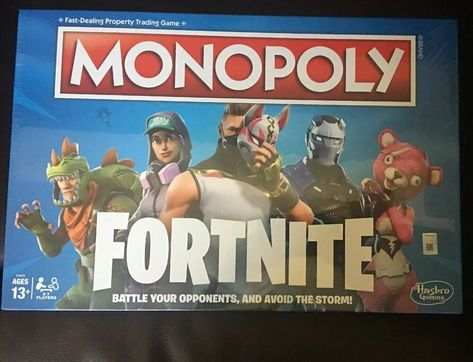 New//Sealed FORTNITE MONOPOLY BOARD GAME