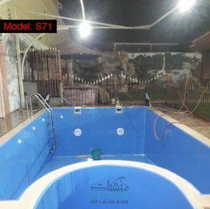 مسبح كبير للبيع افضل سعر مسابح فيبر جلاس جاهزة جميع مقاسات احواض السباحة Pool Outdoor Decor Outdoor