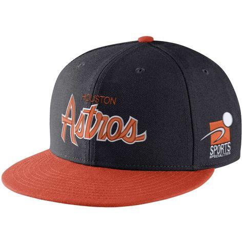 footwear outlet store newest collection Men's Nike Black/Orange Houston Astros Pro Cap Sport Specialties ...