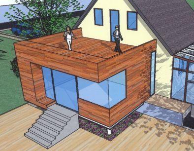 12 besten Haus Umbau Bilder auf Pinterest Haus-Erweiterungen - k amp uuml che landhaus modern