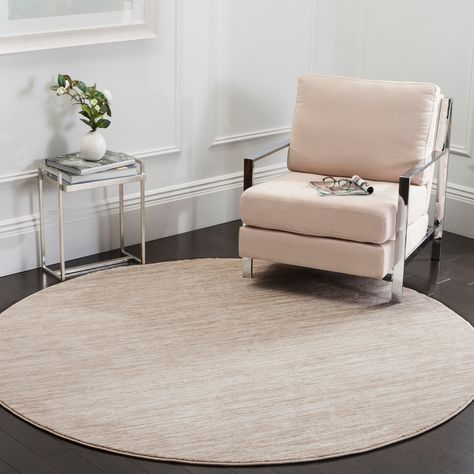 Safavieh Vision Contemporary Cream Rug 9 X 9 Round 9 X 9