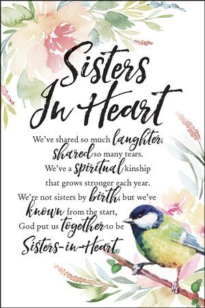 Sisters In Heart Weve Shared So Much Laughter Plaque Sisters In Heart Weve Shared So Much Laughter P Sisters Happy Birthday Sister Happy Birthday Sister Quotes
