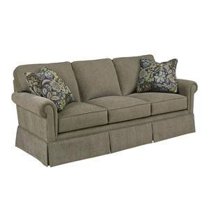 broyhill sofa nebraska furniture mart folding ottoman single bed review brown microfiber stationary