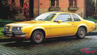 1980 Pontiac Sunbird Sport Coupe  Classic Pontiac cars