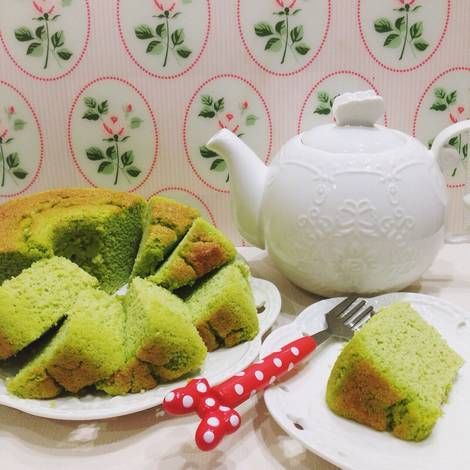 Resep Keto Pandan Chiffon Cake Oleh Debora Prihatna Resep Kue Chiffon Resep Keto Bolu Pandan