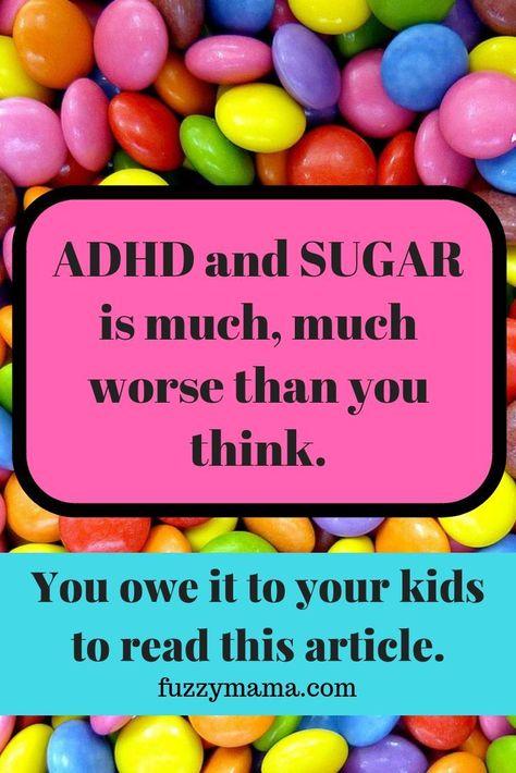 ADHD Foods to Avoid - Fuzzymama