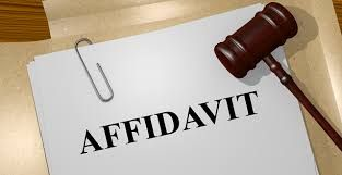 What Is The Significance Of An Affidavit Form Domestic Partnership Employment Discrimination Johnson And Johnson