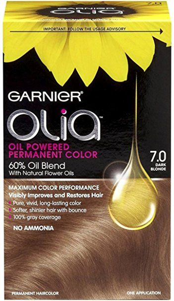 Garnier Olia Oil Powered Permanent Color 7 0 Dark Blonde 1 Each
