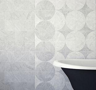 Wickes Azzara Connect Grey Decor Ceramic Tile 150 X 150mm Wickes