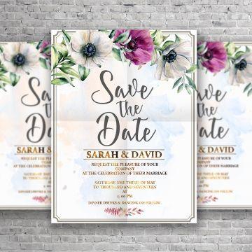 Wedding Invitation Card Wedding Menu Wedding Invitation Cards Wedding Invitations Invitation Cards