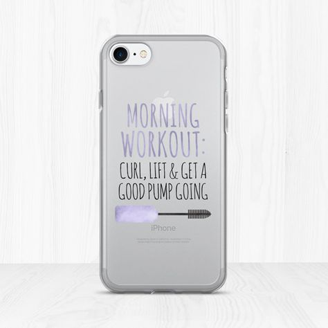 02896af489 My Weapons Of Choice: Makeup - Clear iPhone Case - Funny Saying Makeup  Artist Gift I Love Makeup Cosmetics Beauty MUA Lashes Lipstick Blush |  Makeup Station ...