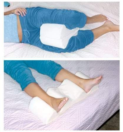 Deluxe Comfort Leg Spacer Pillow 21 X 7 5 X 4 Hypoallergenic Memory Foam Medical Specialty Pillow Side Sleeper Leg Positioner Pillow Natural Wal Leg Pillow Wedge Pillow Pillows