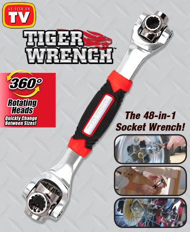 Tiger Wrench Drain Repair Wrench Socket Wrenches