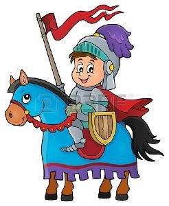 chevalier sur son cheval dessin couleur – Recherche Google ...
