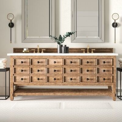 20++ Wood vanity base only type