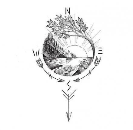 Best Nature Tattoo Designs Life Ideas In 2020 Tattoos Beautiful Tattoos Tattoo Designs