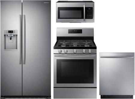 Samsung 1126792 4 piece Stainless Steel Kitchen Appliances ...
