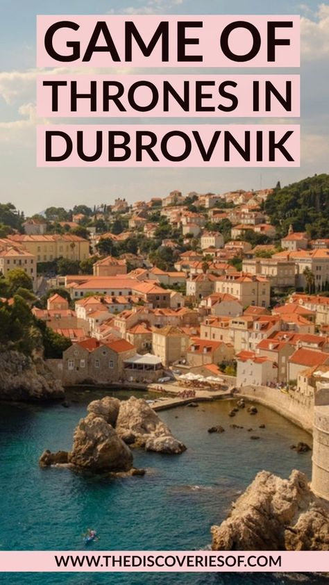 The ULTIMATE Dubrovnik Game of Thrones guide. Trace the footsteps of your favourite characters with this self-guided tour. Dubrovnik - it's ON!
