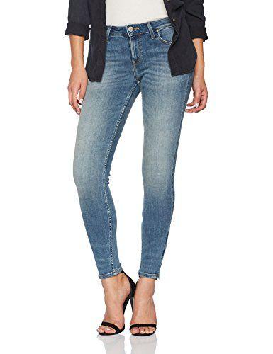 nuevo concepto 3126f f1027 Lee Scarlett Cropped, Vaqueros Skinny para Mujer | Moda ...