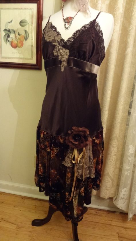 Altered Couture Downton Abbey style slip Dress