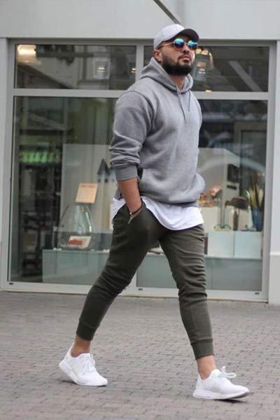 hoodie homme style