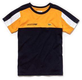 Lacoste Boys Sport Crew Neck Colorblock Jersey Tennis T Shirt In 2020 New T Shirt Design Tee Shirt Fashion Stylish Men Wear