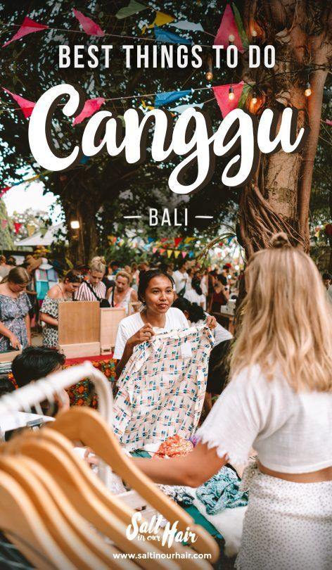 Things To Do in Canggu, Bali – The Full Guide #canggu #bali #travel #indonesia
