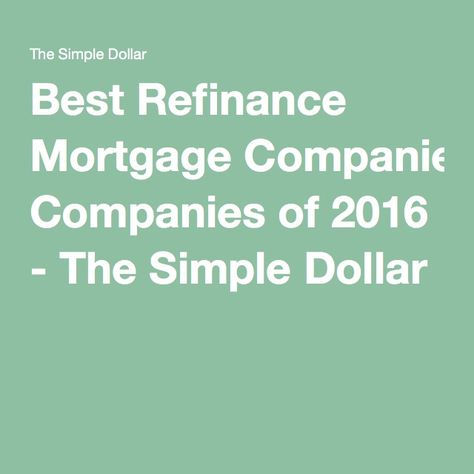 Whether you\u0027re ready to refinance with ditech now or choosing to