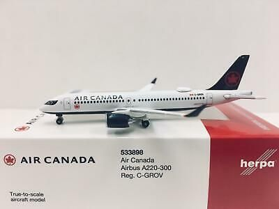 Herpa Wings 1:500 Airbus A220-300 Air Canada 533898