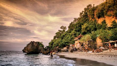 10 Objek Wisata Di Bali Timur Pantai Padang Bai Info