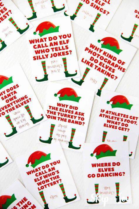 Funny Elf Jokes For The Elf On The Shelf Elf Elfontheshelfnotes Funny Jokes Shelf In 2020 The Elf Elf Elf On The Shelf