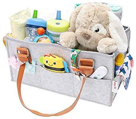 Amazon Com Baby Diaper Caddy Organizer Nursery Storage Bin Baby Shower Gift Basket Newborn Nursery Storage Bin Nursery Storage Baby Shower Gift Basket
