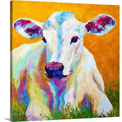 """Canvas On Demand 'Innocence' by Marion Rose Painting Print on Canvas Size: 30"""" H x 30"""" W x 1.25"""" D"""