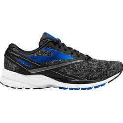 Brooks Men's Launch 4 Running Shoes (Black/Medium Blue, Size - Men's Running Shoes at Academy Sports