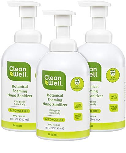 Cleanwell Botanical Foaming Hand Sanitizer Original 8 Fl Oz 6
