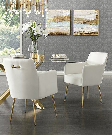 Update Your Dining Room Decor With The Angular Shapes And Slender Legs Of These Side Chairs Uphol Leather Dining Room Chairs Velvet Dining Chairs Dining Chairs