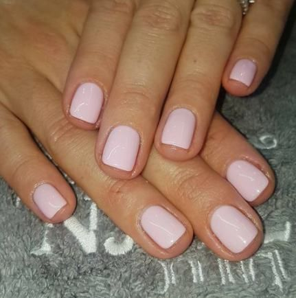 Best Nails Natural Color Pink Colour 29 Ideas Shellac Nail Colors Pink Shellac Trendy Nails