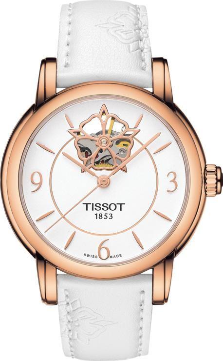 Tissot Watch T Classic Powermatic 80 Heart Flower Ladies T0502073701704 Watch Tissot Watches Women Tissot Watches Tissot