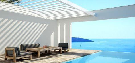 Toiture alu à lames orientables | Renson Outdoor | #basileek #ombre #outdoor