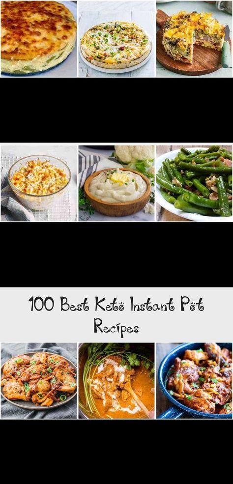 100 Best Keto Instant Pot Recipes #keto #lowcarb #ketorecipes #instantpot #dinner #healthy #healthyeating #LunchRecipes #AirFryerRecipes #BreakfastRecipes #RiceRecipes #SandwichRecipes