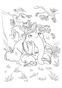 Manny See Drawing Mammoth Coloring For Kids With Images
