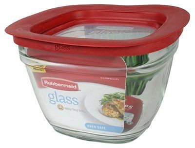 Rubbermaid Easy Find Lid Glass Food Storage Container 5 1 2 Cup Pack Of 2 Review Food Storage Containers Glass Food Storage Containers Food Storage