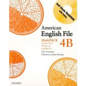 American English File 4b Student Book Workbook American