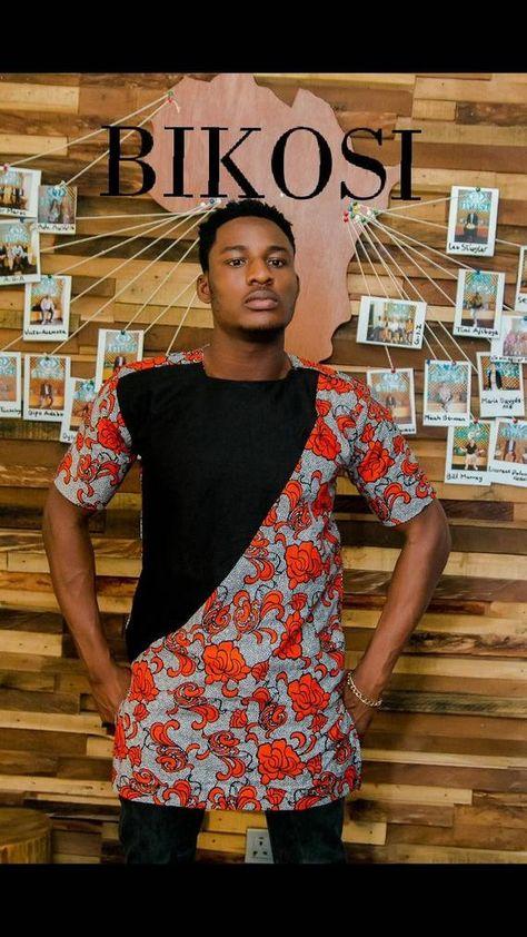 f2d4a62d1 Ankara Shirt For Men, African Print Shirt, Kitenge Shirt