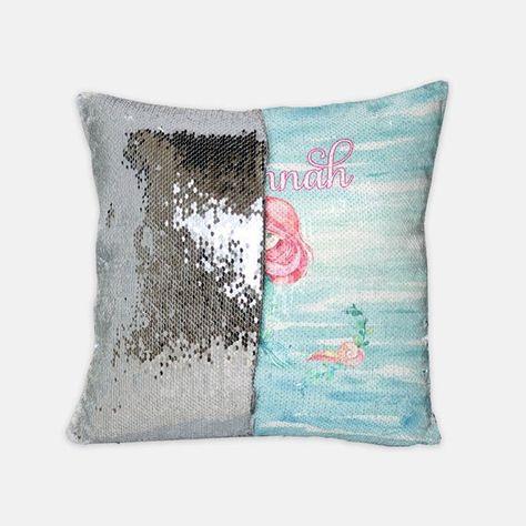 Flip Sequin Pillow Personalized