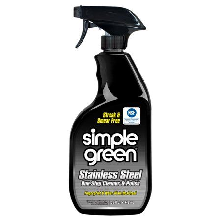 Simple Green Smp18300 Stainless Steel Cleaner Polish 1 Each Milky White Walmart Com Stainless Steel Cleaner Simple Green Stainless Steel Cleaners Polishes