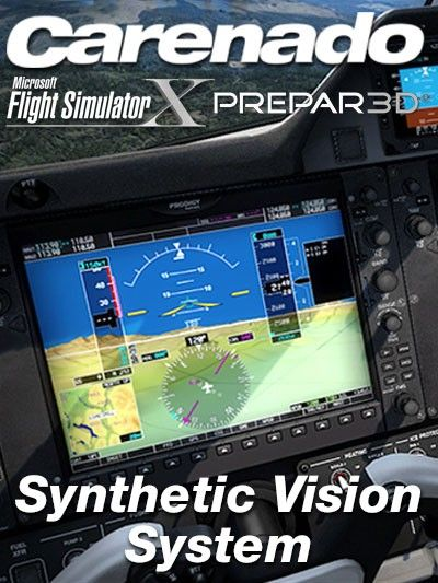 Carenado Synthetic Vision System Fsx P3d Important This Product Doesn T Work Alone You Also Need Any Carenado Aircraft Equippe System Grand Caravan Visions