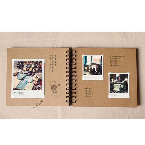 Scrapbook Album, Kraft Scrapbook, Blank Scrapbook, Kraft Photo Album, Wedding Guest Book, Wedding Al